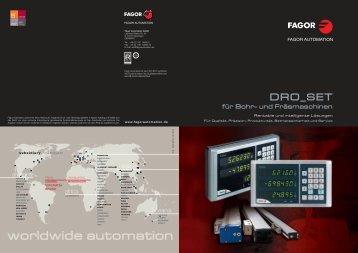 worldwide automation - Fagor Automation