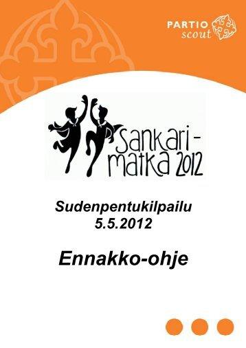 Ennakko-ohje - Järvi-Suomen Partiolaiset