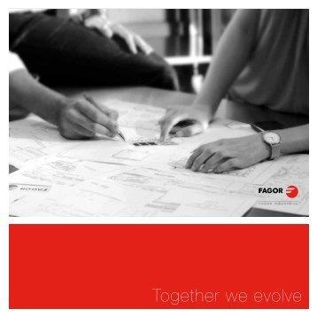Together we evolve - Fagor Industrial
