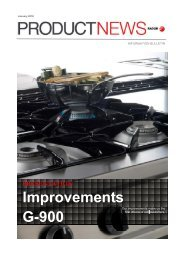 Improvements G-900 - Fagor Industrial