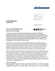 DRAFT aha v - Steinemann Technology AG