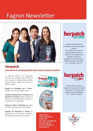 Newsletter herpatch.pdf - Fagron