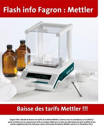 Flash info Fagron : Mettler
