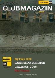Clubmagazin Winter 2008/Frühjahr 2009 - Fahrerclub