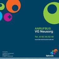 Anrufbus Neusorg - Fahrmit Tirschenreuth