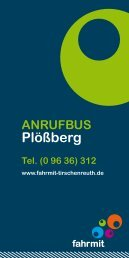 Plößberg - Fahrmit Tirschenreuth