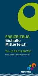 FREIZEITBUS Eishalle Mitterteich - Fahrmit Tirschenreuth