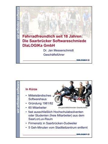 Fahrradfreundlich seit 18 Jahren: Die Saarbrücker ...