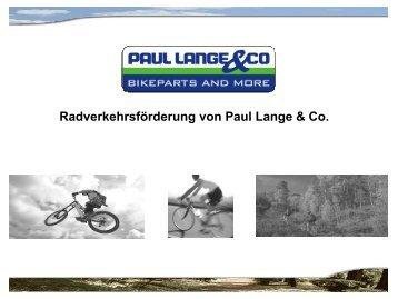 Paul Lange - Machen Sie Ihren Betrieb Fahrrad-fit!