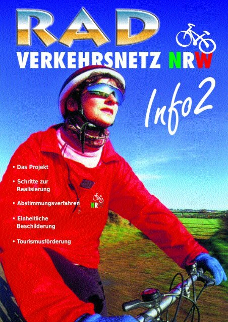 Radverkehrsnetz NRW, Info Nr. 2 - Arbeitsgemeinschaft ...