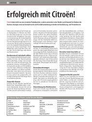 Erfolgreich mit Citroën! - verkehrsRUNDSCHAU.de