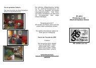 Flyer des Vereins (PDF) - ASS Nienburg