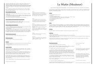 Le Mutin (Meuterer) - Bruno Faidutti
