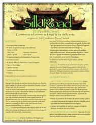 Silk Road - Bruno Faidutti