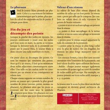 Règles en français - Bruno Faidutti