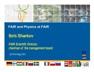 Status of the FAIR Project - Facility for Antiproton and Ion Research
