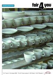 Sonnenschein – Keramik für jeden Tag - Fair4You