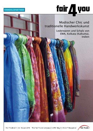 Modischer Chic und traditionelle Handwerkskunst - Fair4You