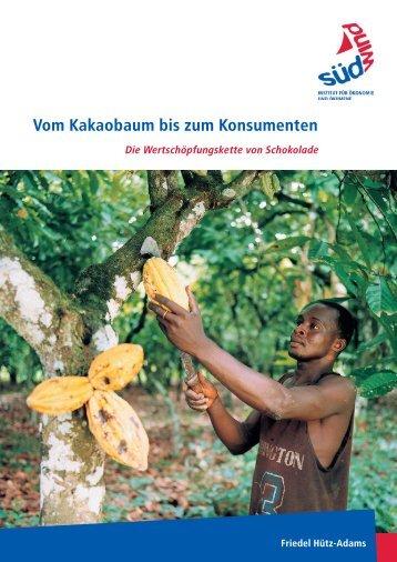 """Studie """"Vom Kakaobaum bis zum Konsumenten"""" - SÜDWIND-Institut"""