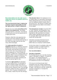 Recommendations for making black tea - fairbiotea