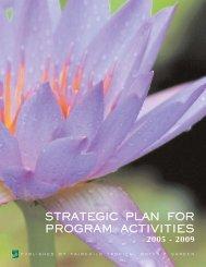 Strategic Plan 05 – Fairchild Tropical Botanic Garden - American ...