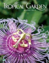 spring 2010 - Fairchild Tropical Botanic Garden