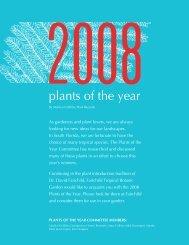 2008 Plants of the Year - Fairchild Tropical Botanic Garden