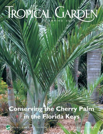 Conserving the Cherry Palm in the Florida Keys - Fairchild Tropical ...