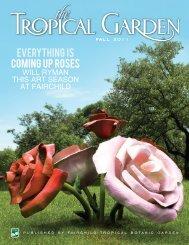 Fall 2011 - Fairchild Tropical Botanic Garden