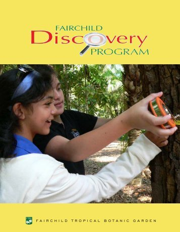 Discovery program policies and directions - Fairchild Tropical ...