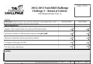 2012-2013 Fairchild Challenge 2011-2012 Fairchild Challenge