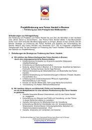 pdf, 39.6 KB - Fairer Handel - Bremen