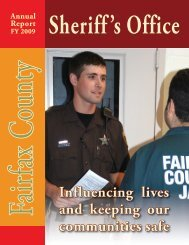Annual Report FY 2009 - Fairfax County Government