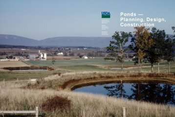 Ponds - Planning, Design, Construction - New York State ...