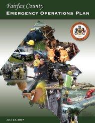 Fairfax County Emergency Operations Plan