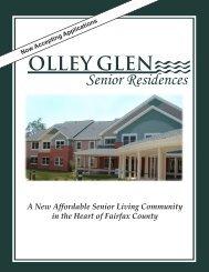 Olley Glen Senior Residences - Fairfax County Government