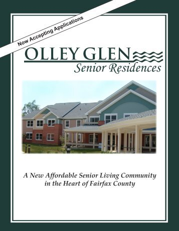 Olley Glen Senior Residences - Fairfax County Government