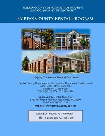 Fairfax County Rental Program Brochure (PDF)