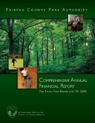 Fiscal Year Ended 2008 - Fairfax County Government