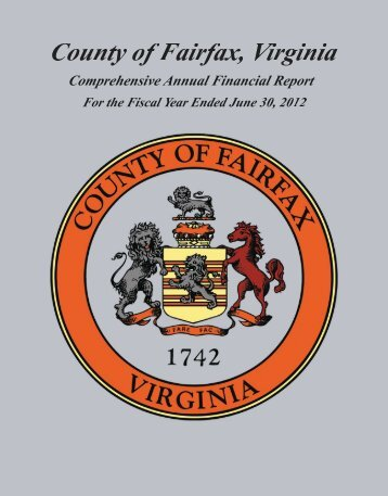 FY2012 CAFR - Fairfax County Government