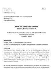 Bericht zum Runden Tisch - Gespräch Thema ... - Flower Label FLP