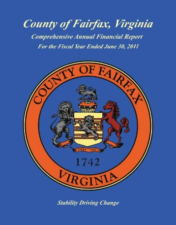 FY2011 CAFR - Fairfax County Government