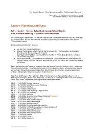 Unsere Wanderausstellung - FairHandeln Bayern!