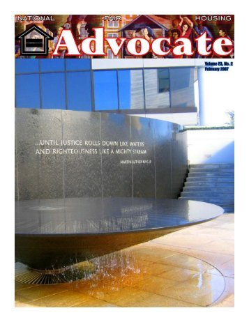February 2007 - National Fair Housing Advocate Online