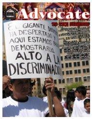 April 2006 - National Fair Housing Advocate Online
