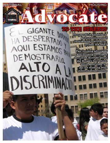 April 2006 - National Fair Housing Advocate Online