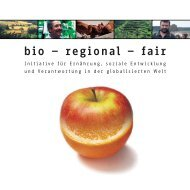 bio – regional – fair - Fair Handeln Bayern