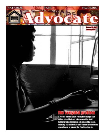 Jan 2007 -primo.pmd - National Fair Housing Advocate Online