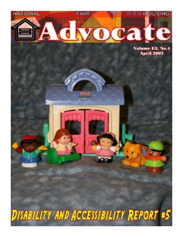 April 2007 - National Fair Housing Advocate Online