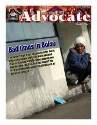 December 2006 - National Fair Housing Advocate Online
